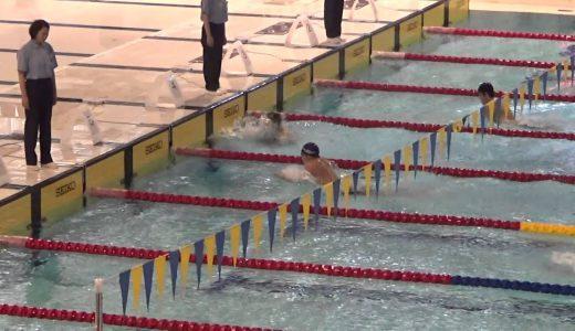 和歌山県ジュニア2015 男子200IM予選 井手