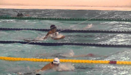 男子200m個人メドレー予選 井手