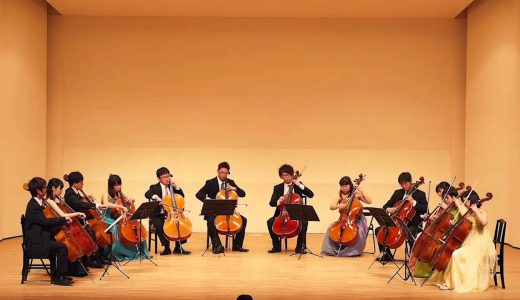 井手上和央:The Flow with Discord for Cello Ensemble